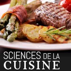 Livre 'Sciences de la cuisine'