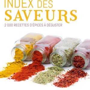 Livre 'Index des saveurs'