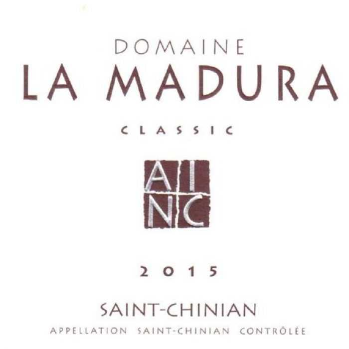 Domaine La Madura Classic Rouge 2015
