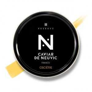 Caviar osciètre réserve
