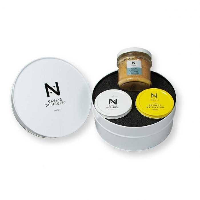 Coffret Origine Découverte Caviar de Neuvic