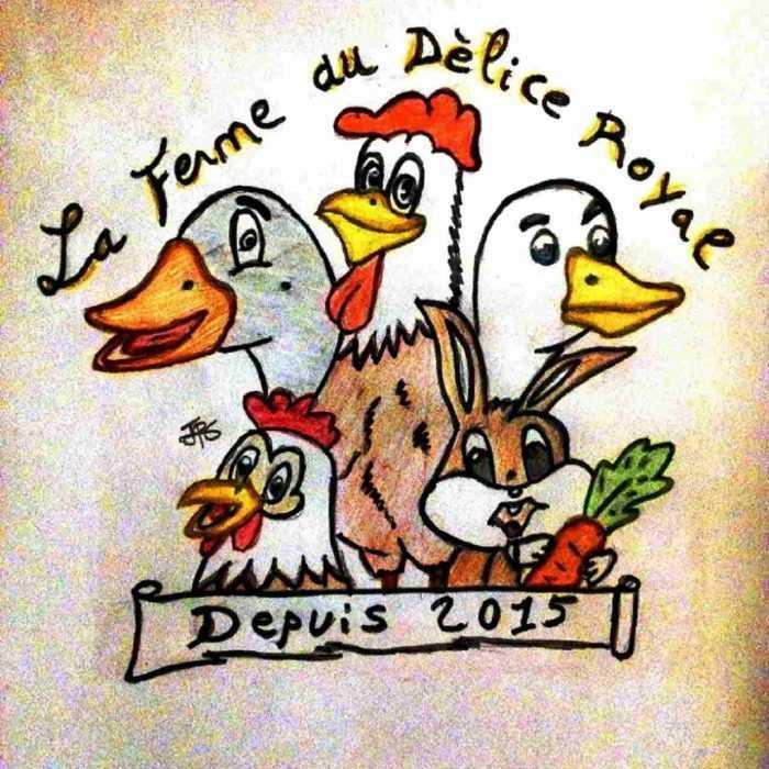 Logo Ferme au Délice Royal