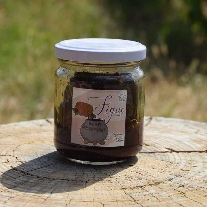 Pot de figues entières caramélisées au balsamique de Myriam Oddon