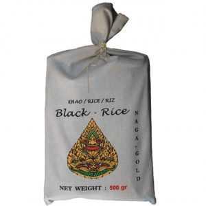 Riz noir « Si Nin » de Naga Gold