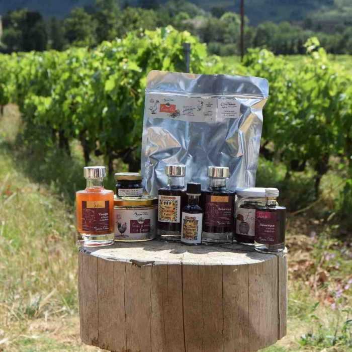 Panier Saison de la Vinaigrerie Pédagogique - Myriam Oddon