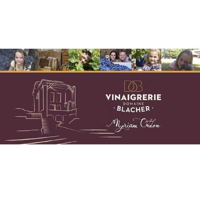 Logo Vinaigrerie Domaine de Blacher- Myriam Oddon
