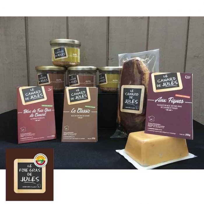 L'apéro des copains, gamme Le foie gras de Jules