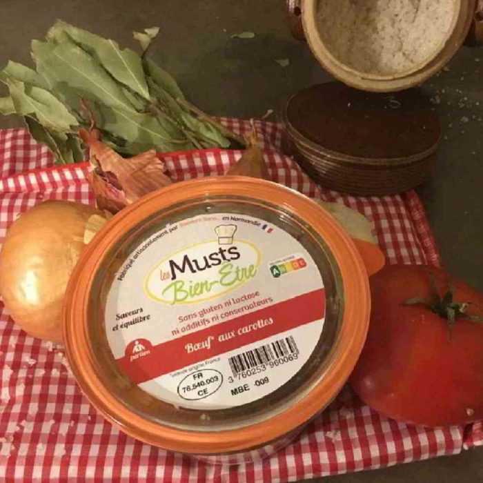 Bœuf aux carottes, les musts bien-être de Saveurs Sans