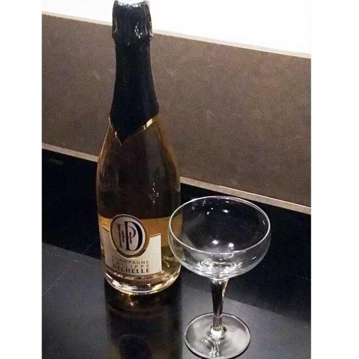 6 Bouteilles Champagne Blanc de noirs Philippe Dechelle