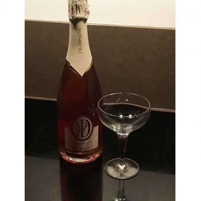 6 Bouteilles Champagne Rosé Philippe Dechelle