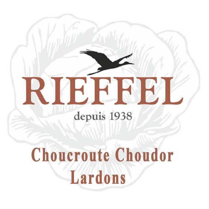 Choucroute Choudor Lardons de Rieffel