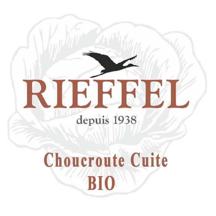 Choucroute Cuite Bio de Rieffel