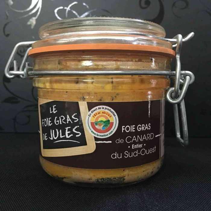 Foie gras de canard entier d'Aquitania