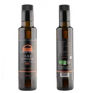 Duo huile d'argan et huile d'olive d'Indhya