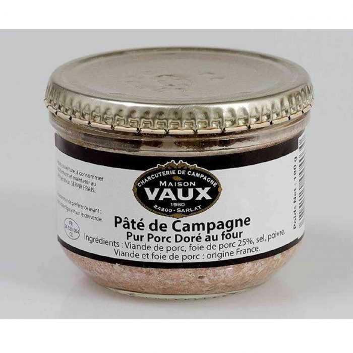 Pâté de campagne doré au four de Maison Vaux