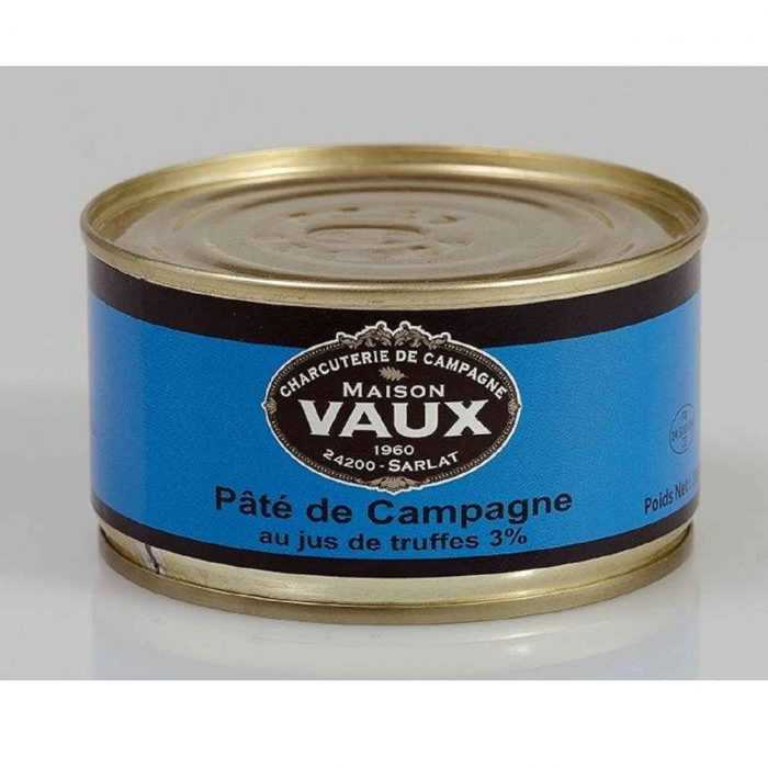 Pâté campagne au jus de truffes de Maison Vaux