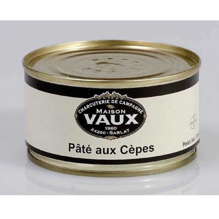 Pâté aux cèpes de Maison Vaux
