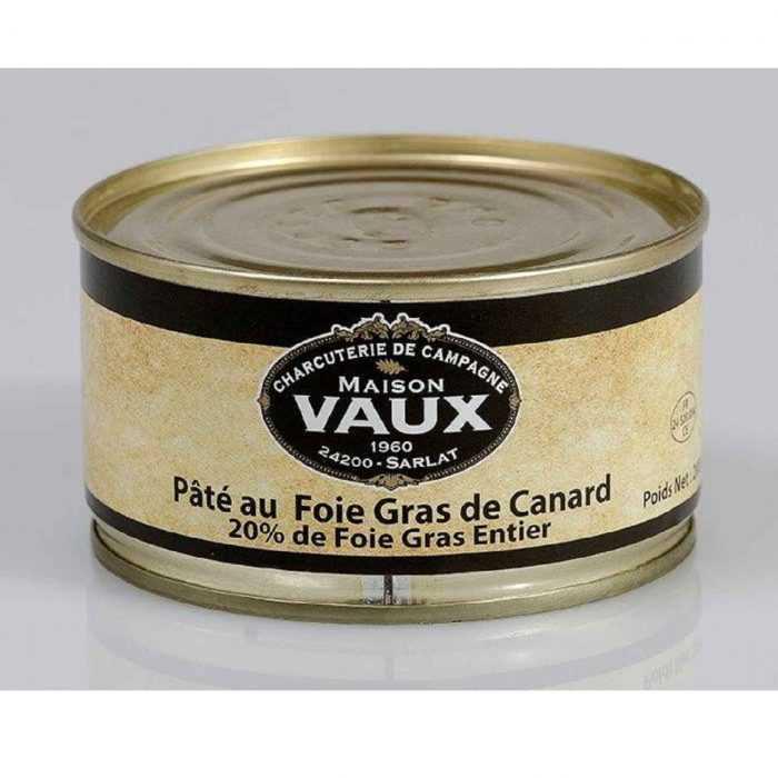 Pâté au foie gras de canard 20pct de Maison Vaux