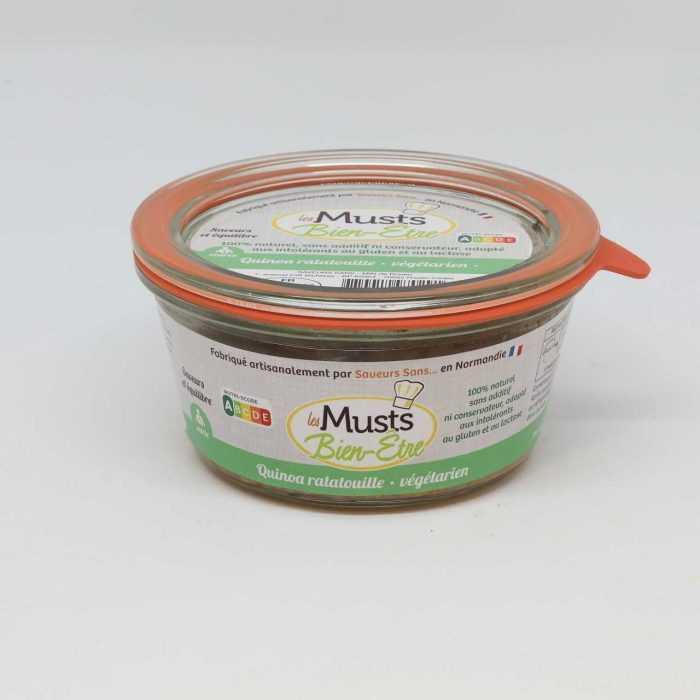 Quinoa ratatouille - recette végétarienne de Saveurs Sans