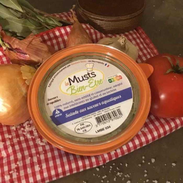 Salade aux saveurs aquatiques de Saveurs Sans