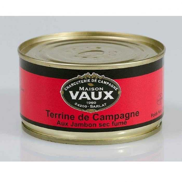 Terrine de campagne au jambon sec fumé de Maison Vaux
