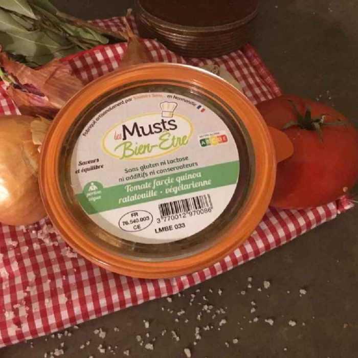 Tomate farcie ratatouille - végétarienne Les Musts Bien-être
