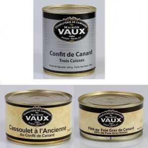 Tradition Canard du Périgord de la charcuterie de campagne Maison Vaux