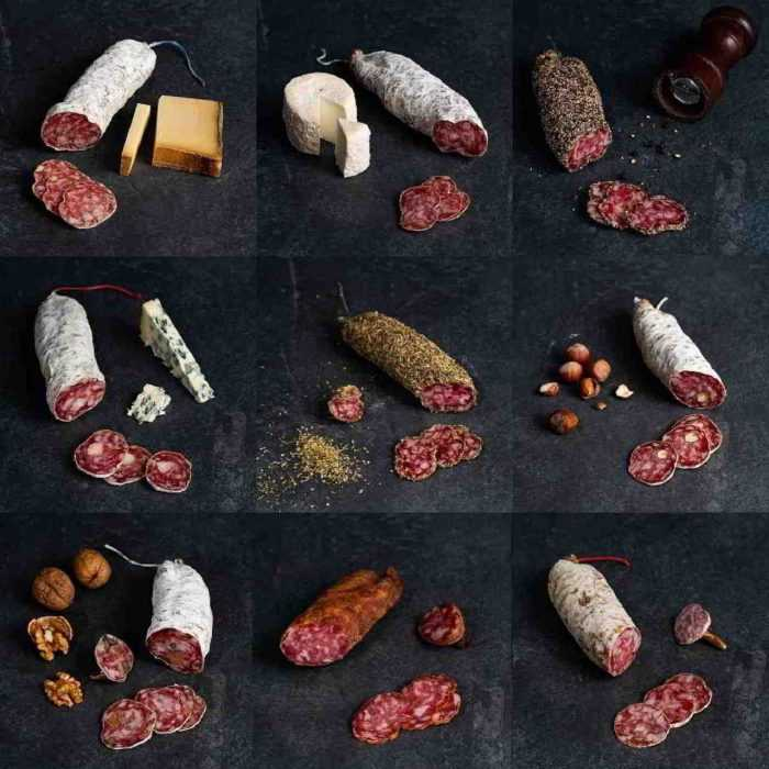Saucissons secs aromatisés de la Boutique des saucissons