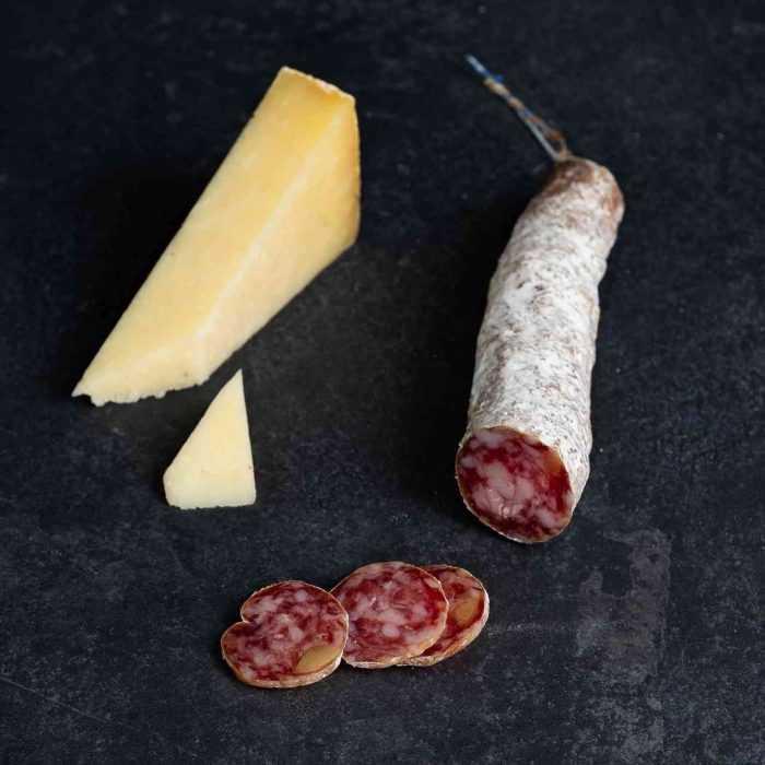 Mini-saucisson au Cantal de La Boutique des Saucissons