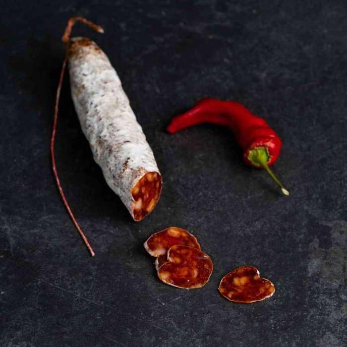 Mini-saucisson aux piments de La Boutique des Saucissons
