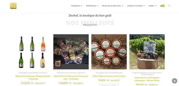 Produits du terroir Zechef disponibles