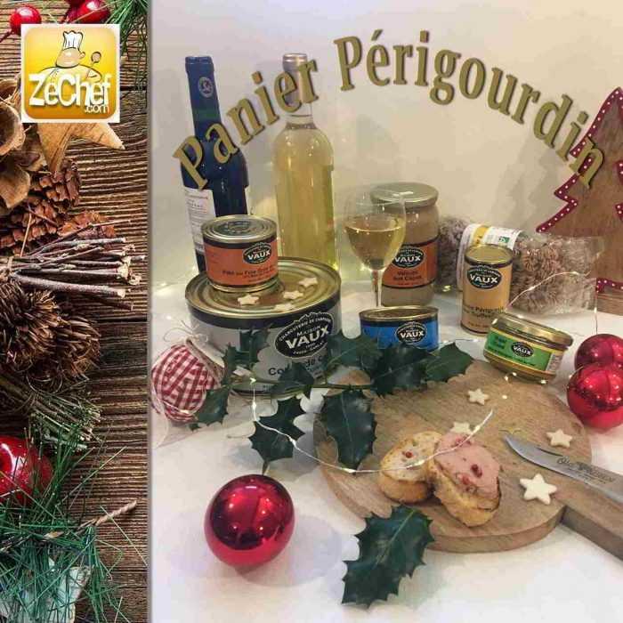 Panier périgourdin, spécial Noël en terroir périgourdin
