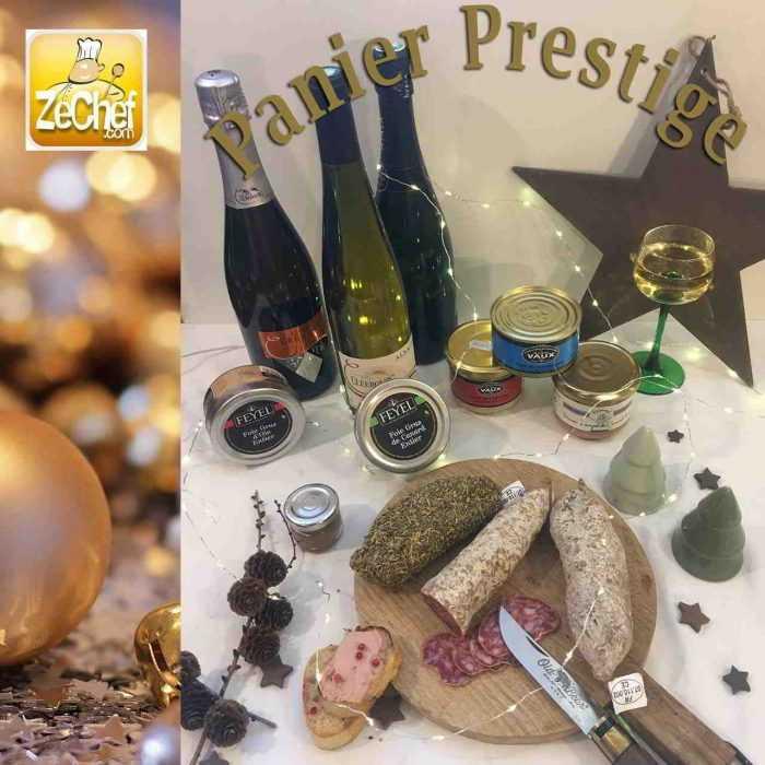 Panier Prestige, spécial Noël en France
