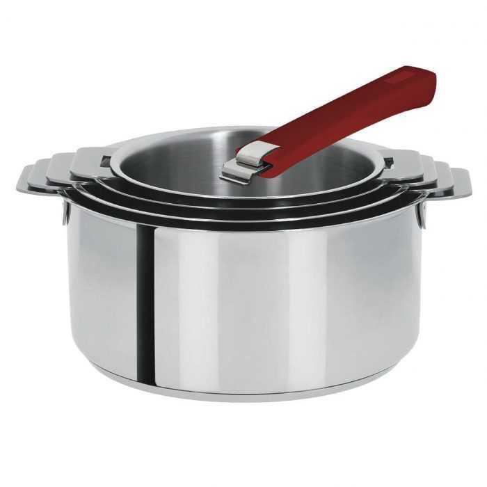 4 tailles de casseroles Mutine