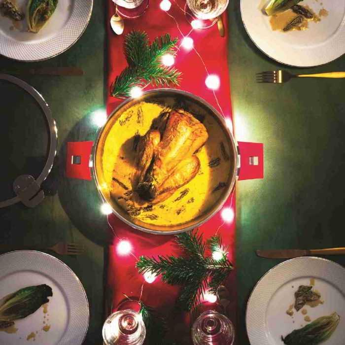 Sauteuse inox, Cristel gamme mutine amovible , à table