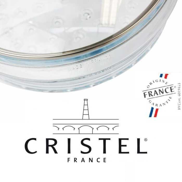 Cuit-vapeur en verre Cristel, made in France