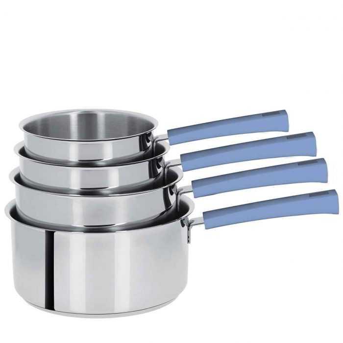 Mutine poignée fixe lavande, casseroles de 14 à 20cm
