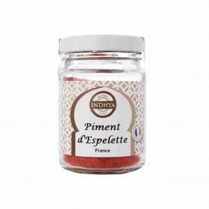 Piment d'Espelette d'Indhya Food