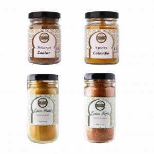 Mélanges d'épices pour toutes les viandes - 4 pots