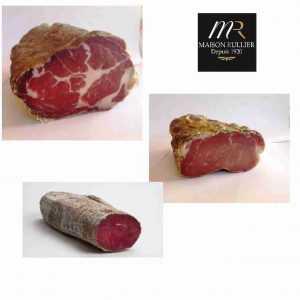 3 Viandes séchées de Savoie: Coppa, Filet de Caïon, Boeuf séché