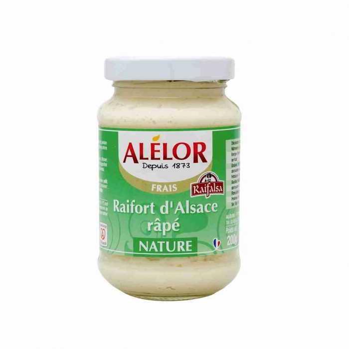 Raifort doux râpé d'Alsace