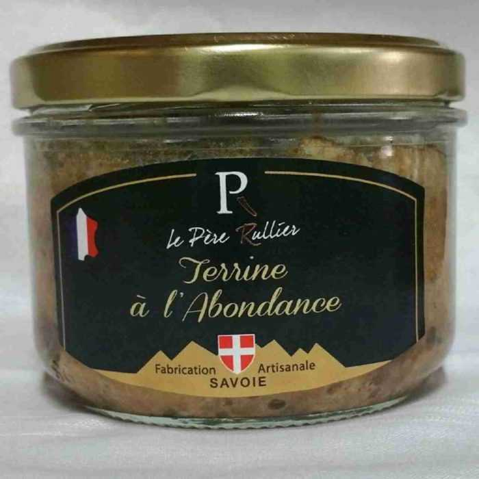 Terrine au fromage Abondance AOP