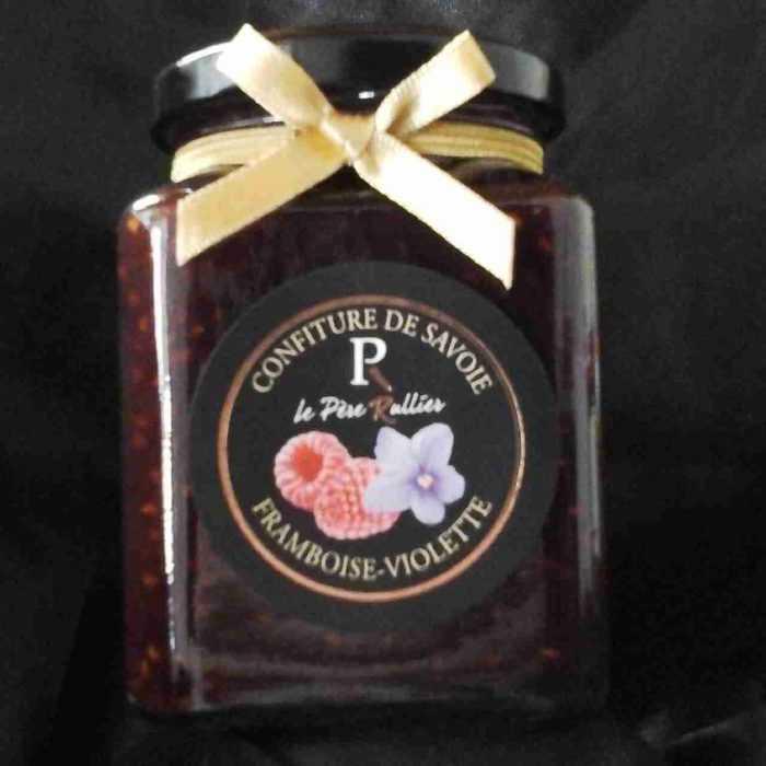 Confiture de Framboises et violette