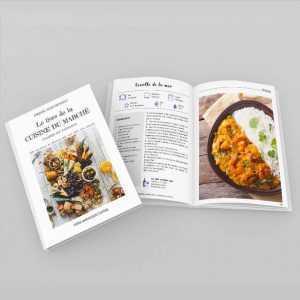 Le livre de la cuisine du marché - viandes & poissons - ouvert